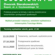 Prelekcje Prawo w życiu codziennym | Domy Sąsiedzkie | jesień 2020 ZAWIESZONE DO ODWOŁANIA