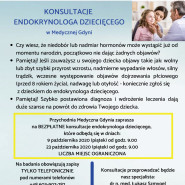 Konsultacje endokrynologa dziecięcego w Medycznej Gdyni