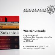 Pomorska Nagroda Literacka - spotkanie z autorami