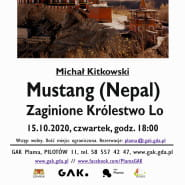 Michał Kitkowski Mustang (Nepal) - zaginione Królestwo Lo