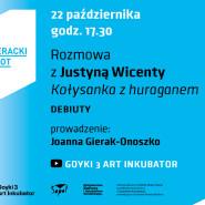 Jesienny Literacki Sopot, rozmowy online. Justyna Wicenty