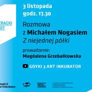 Jesienny Literacki Sopot, rozmowy online. Michał Nogaś