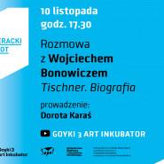 Jesienny Literacki Sopot, rozmowy online. Wojciech Bonowicz.