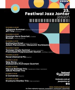 23. Festiwal Jazz Jantar / jesień