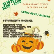 Halloween dla maluchów od 1 do 4 roku życia - warsztaty
