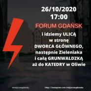 #WyrokNaKobiety Blokada Wszystkiego - Gdańsk