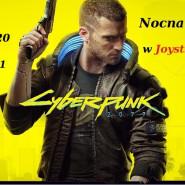 CyberPunk 2077 nocą w Joystick Gdynia