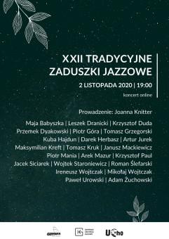 XXII Tradycyjne Zaduszki Jazzowe