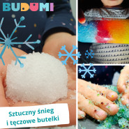 BUDU Lab - Śztuczny śnieg i tęcza w butelce