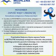 Bezpłatne konsultacje urologiczne w Medycznej Gdyni