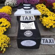 Protest trójmiejskich Taksówkarzy