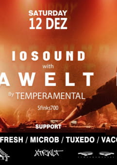 IOSound with Extrawelt live by Temperamental