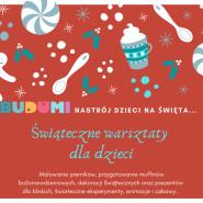 Warsztaty świateczne w BUDUMI - Dekorowanie pierniczków i ozdoby z zimnej porcelany
