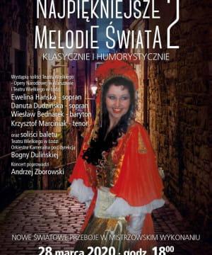 Najpiękniejsze Melodie Świata 2 - przeniesione na 27.12