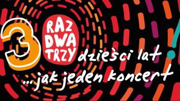 Bilety na koncert zespołu Raz Dwa Trzy