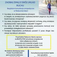 Zadbaj zimą o swój układ ruchu. Konsultacje ortopedyczne w Medycznej Gdyni