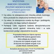 Wszystkim babciom i dziadkom życzymy mocnych kości. Badania gęstości kości w Medycznej Gdyni