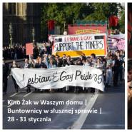 Kino Żak w waszym domu / Buntownicy w słusznej sprawie: Dumni i wściekli i 120 uderzeń serca