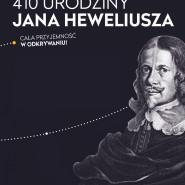 410 urodziny Jana Heweliusza
