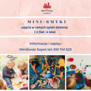 Mini Smyki- zajęcia w ramach opieki dziennej