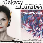 Plakaty i Malarstwo | Wystawa Karoliny Podoskiej i Anny Warenik-Gabbiani