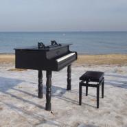 Piano Ice Man - Gram i morsuję dla Mikołaja z Morzem Aniołów