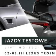 LS jazdy testowe Lifting 2021 w salonie Lexus Trójmiasto.
