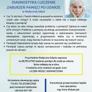 Bezpłatne badania pamięci w Medycznej Gdyni