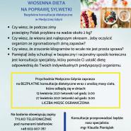 Bezpłatne konsultacje dietetyczne w Medycznej Gdyni