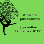 Joga online - wiosenne przebudzenie