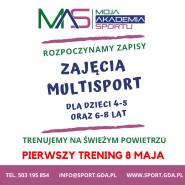 Multisport - pierwszy darmowy trening dla dzieci 4-8 lat