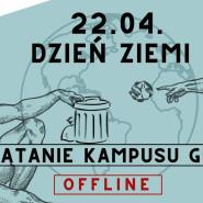 Dzień Ziemi: Sprzątanie kampusu GUMed - offline!