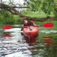 Spływ kajakowy meandrami Redy