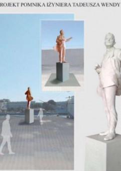 Uroczystość odsłonięcia pomnika Tadeusza Wendy