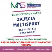 Multisport - pierwszy darmowy trening dla dzieci 4-5 lat