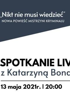 Spotkanie live z Katarzyną Bondą