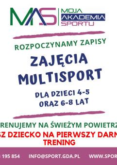 Multisport - pierwszy darmowy trening dla dzieci 6-8 lat