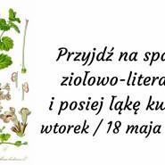 Spacer zielarsko-literacki i sianie łąki kwietnej
