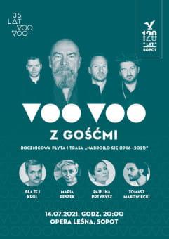 Voo Voo, Peszek, Przybysz, Król, Makowiecki w Operze Leśnej