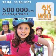 Charytatywni Aktywni Dzieciom na trasie rowerowej