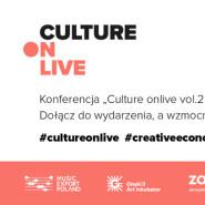 Konferencja #CultureonLIVE