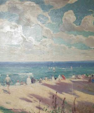 Morze nasze morze - Wybrane przykłady malarstwa  wykład Gabrieli Zbirohowskiej-Kościa