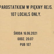 Parostatkiem w piękny rejs. 107 Locals Only.