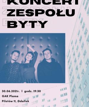 Plenerowy koncert zespołu BYTY