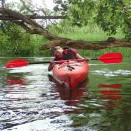 Szybki popołudniowy spływ kajakowy rz. Redą