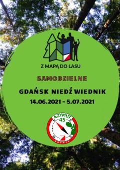 SAMODZIELNE Z Mapą do Lasu Gdańsk Niedźwiednik