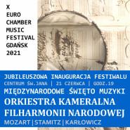 X Euro Chamber Music - Inauguracja
