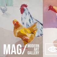 Wernisaż - Kurzy Świat - Magdalena Kopron-Kusiak Galeria MAG Garnizon