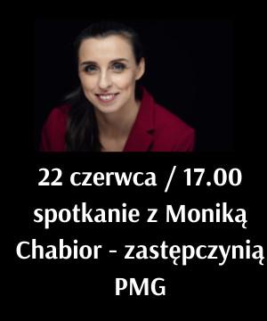Spotkanie z Moniką Chabior - zastępczynią prezydenta Miasta Gdańska