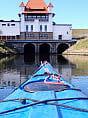 Kajakiem przez elektrownie wodne Raduni